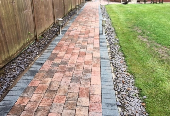 Brick Pathway Cleaning Basingstoke