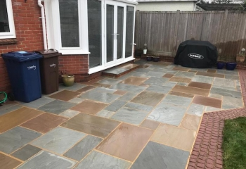 Back garden patio cleaning in Basingstoke